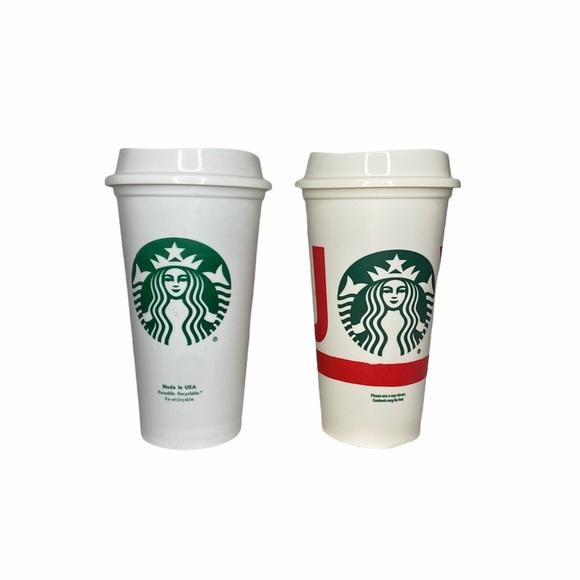 Starbucks- Hot Reusable Cup 2pk